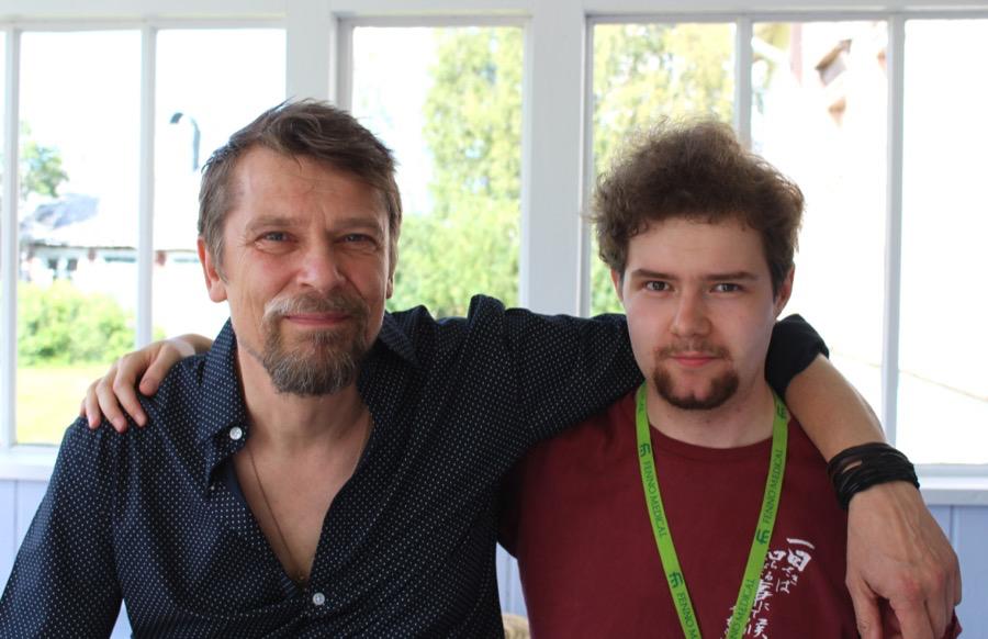 Markojuhani Rautavaara ja Eero Karvonen, joiden kannattaa varoa, mitä keksivät, sillä se saattaa toteutua! Kuva © Laura Isola.