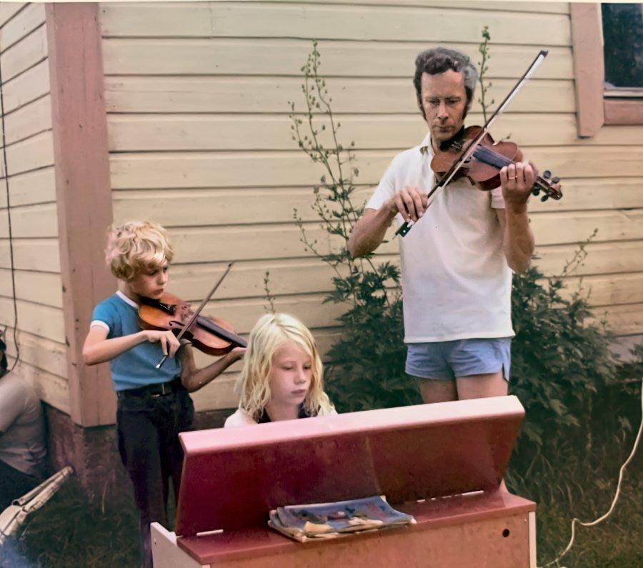 Markku ja lapset
